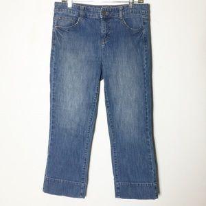 Tommy Hilfiger Crop Denim Capris Boyfriend Jeans